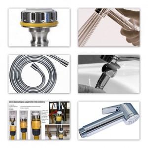 Shower heads and hose adaptors